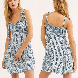 Free People Love Like This Floral Mini Dress 12